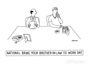 national-bring-your-brother-in-law-to-work-day-new-yorker-cartoon