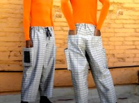 OK, so these solar pants aren't so beautiful...